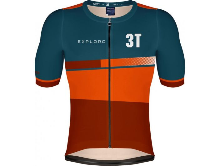 3T GRAVEL SHORT SLEEVES JERSEY In order to make sure that every piece of the new gravel-specific 3T clothing is top quality,